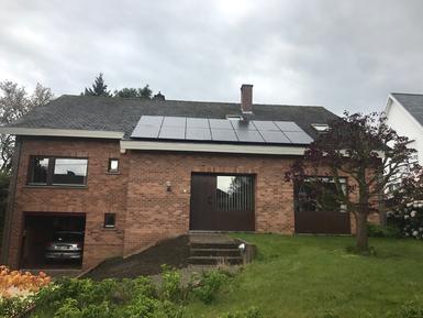 3.920Wp - Panelen Solarwatt te Herent