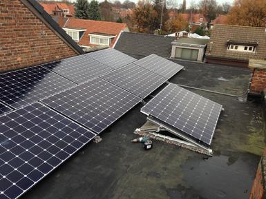 3.597Wp - Panelen Sunpower te Ekeren