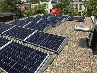 4.950Wp - Panelen Solarwatt te Deurne