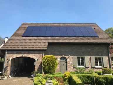 5.300Kw - Panelen Solarwatt - te Kapellen