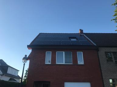 5.100Wp - Panelen Solarwatt te Zonhoven