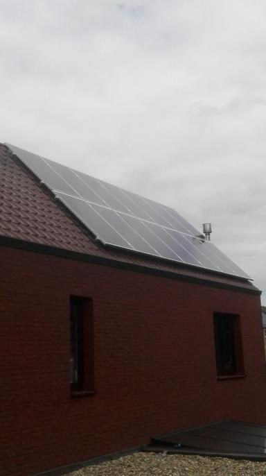 3.850Wp panelen Bisol te St-Martens-Voeren