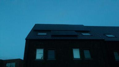 6.480Wp panelen Talesun te Genk