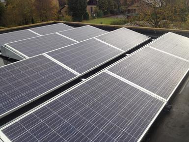 4.860Wp - panelen Bisol te Diepenbeek