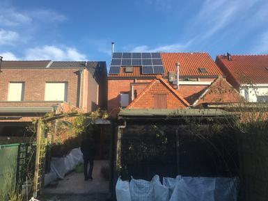 3.575Wp - panelen Solarwatt te Brasschaat