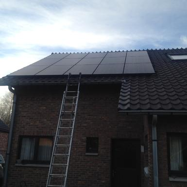 4.125Wp - panelen Solarwatt te As