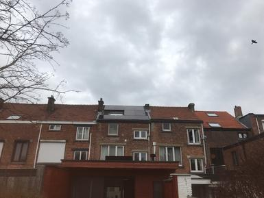 2.943Wp - panelen Sunpower te Kessel-Lo