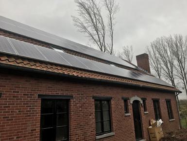12.925Wp - panelen Solarwatt te Wintershoven