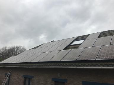 9.000Wp - panelen Solarwatt te Essen