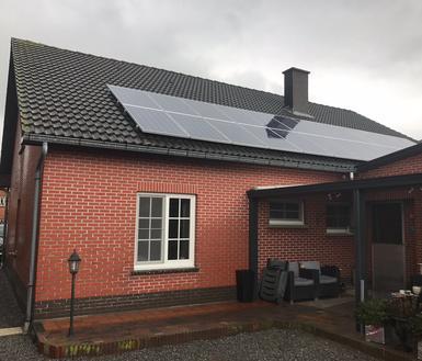 6.600Wp - panelen Solarwatt te Herk-De-Stad