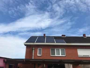 3850Wp - panelen Solarwatt te Brecht