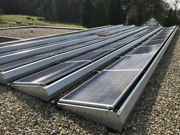 11.800Wp - panelen Bisol op plat dak te Tessenderlo