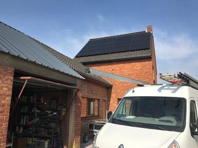 4.480Wp - panelen Solarwatt Full black te Zutendaal