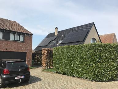 5.320Wp - panelen Solarwatt FB te Oostmalle