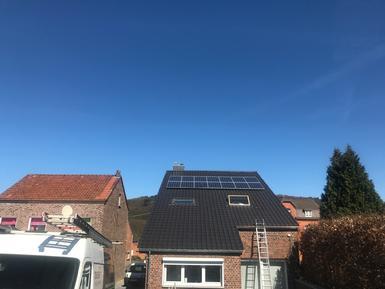 3.850Wp - panelen Solarwatt te Voeren