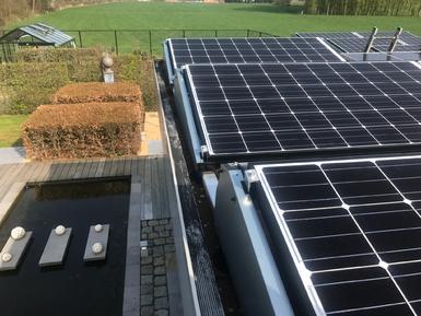3.900Wp - Panelen Solarwatt te Herselt