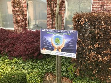 5.130Wp - Panelen Solarwatt FB te Wommelgem