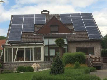 30 panelen axitec 265 wp solar edge te lummen