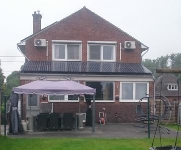20 panelen sunpower 327 wp met solar edge te dilsen-stokkem