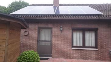 23 panelen axitec 265 wp met solar edge te ellikom