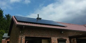 10 panelen sunpower 327 wp full black te zonhoven