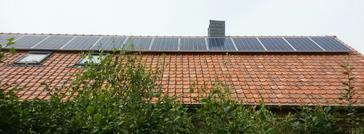 28 panelen axitec 265 wp met solar edge te eksel
