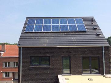 14 panelen viessmann 260 wp te wezembeek-oppem