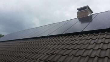 30 panelen axitec 270 wp full black met solar edge te lanaken