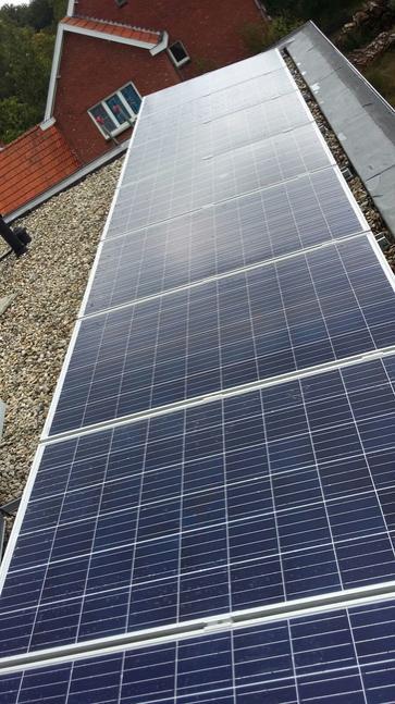 15 panelen axitec 265 wp met solar edge te hechtel