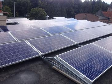 29 panelen axitec 265 wp met solar edge te genk