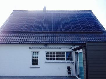 30 panelen sunpower 345 wp met solar edge te leolpoldsburg
