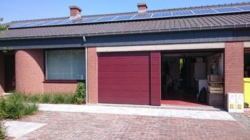 25 panelen axitec 265 wp met solar edge te Bertem