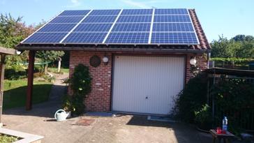 16 panelen axitec 265 wp met solar edge te voeren
