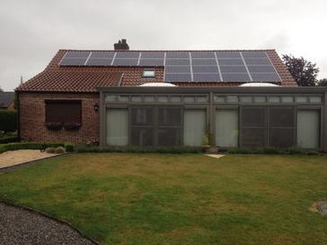 24 panelen axitec 265 wp met solar edge te hamont