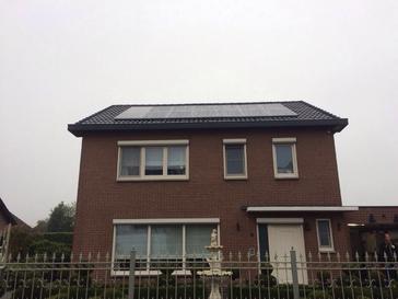 34 panelen axitec 265 wp met solar edge te lommel