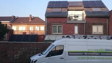 16 panelen sunpower 327 wp met solar edge te tongeren