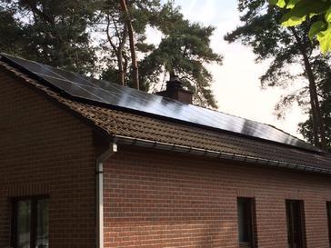 24 Solar Frontier panelen 170 Wp met SolarEdge optimizers