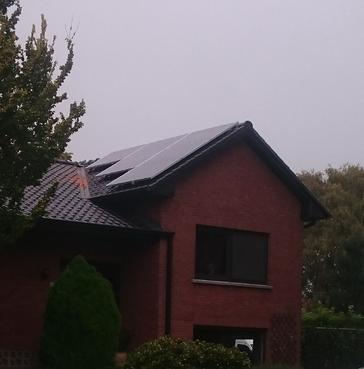 23 panelen axitec 265 wp met solar edge te koersel