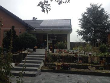 10 panelen axitec 265 wp met solar edge te helchteren