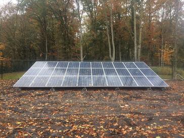 30 panelen axitec 265 wp met solar edge te Hasselt