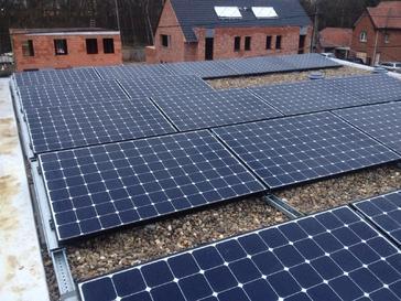 18 panelen sunpower 327 wp te beringen