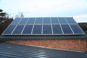 De onderste 8 panelen zijn een uitbreiding van G&D Energy