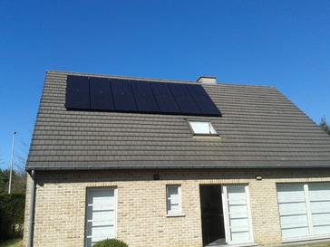 SCHUCO zonnepanelen 265 Wp full black