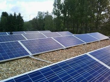 20 SCHUCO panelen op plat dak