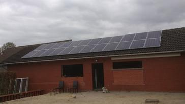 24 zonnepanelen 250 Wp