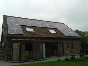 Zonnepanelen geplaatst door G&D Energy uit Tongeren