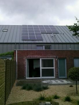 6000 Wp op een zinken dak