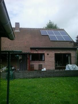 1750 Wp aan zonnepanelen