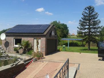 24 panelen SUNPOWER 327 WP
