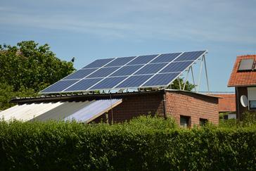 Zonnepanelen goed voor een jaaropbrengst van 3.500 kWh